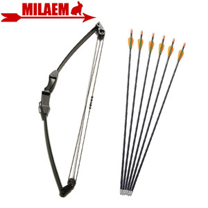 Image 1 - 1Set 12lbs Archery Children Bow And Arrow Kids Boy Set With Fiberglass Arrow Gift Game Bow Target Shooting Hunting Accessories