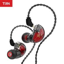 цена на TRN V30 2BA 1DD Hybrid In Ear Earphone IEM HIFI Monito Sport Earphone 3 Drive Earplug Headset 2Pin Detachable TRN  V80/IM1 ZS10