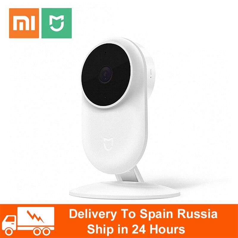 New Original Xiaomi Mijia 1080P IP Camera 130 Degree FOV Night Vision 2.4Ghz Dual-band WiFi Xiaomi Homes Kit Security Monitor
