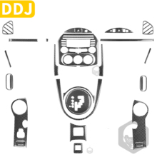 For Mazda MX 5 Miata MX5 NC 2009 2015 Roadster Carbon Fiber Interior Trim Car Accessories CD Dashboard Door Gear Box AC Sticker
