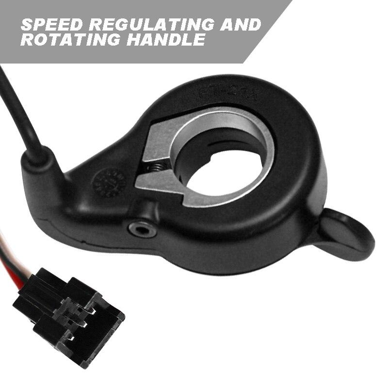 Universal E-scooter E-bike Thumb Throttle Handlebar Mount Speed Regulation Controller Fit for 22mm Diameter Handlebar