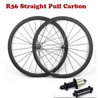 슈퍼 라이트 카본로드 자전거 Wheelset 700C 38/50/60/88mm 스트레이트 당겨 R36 탄소 허브 현무암 브레이크 표면 자전거 바퀴|자전거 바퀴|스포츠 & 엔터테인먼트 -