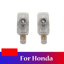 2 Pieces Car Door Welcome Light Projector Ghost Shadow Lamp For Honda Civic 8 8th Insight For Acura MDX ZDX TL TLX RLX hydraulic auto tensioner timing belt adjuster oem 14520 rca a01 dtd2001 70994 for hhonda odyssey pilot aacura rl tl mdx zdx 2pcs