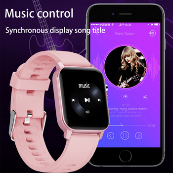 "LIGE Women Smart Watch IP68 Waterproof 1.4"" Full Touch Screen Sport Smart Watch Women Heart Rate Fitness Tracker Men smart watch 2"