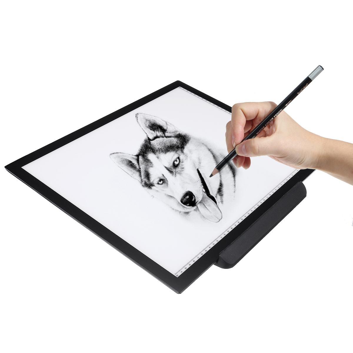 Panel de luz LED Ultra delgado A3, tablero de luz de trazado para dibujar y Copiar para suministros de pintura de diamantes