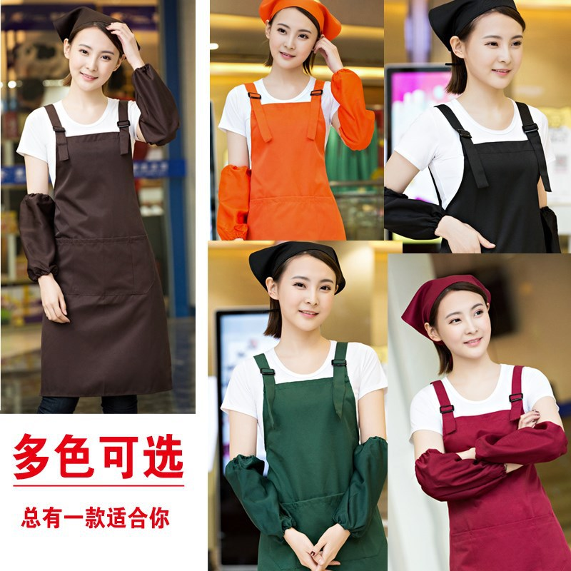 Hair Salon Work Assistant Work Clothes Barber Hairdresser Hot Dye For Waterproof Korean-style Female Clothing Hair Apron