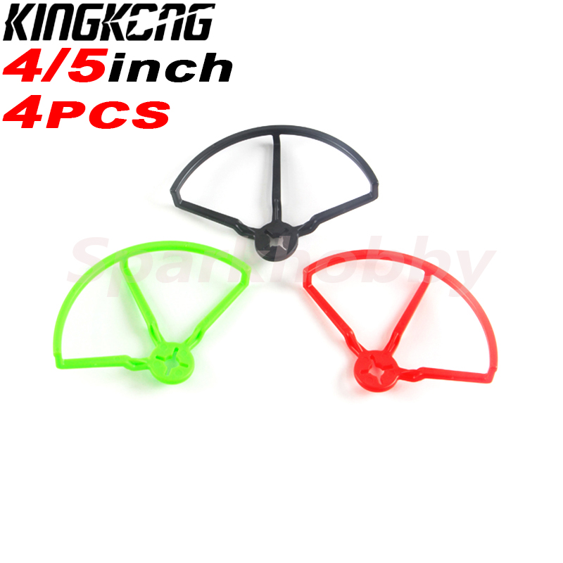 4PCS KINGKONG LDARC 4 Inch 5 Inch Universal Propeller Prop Guard Protector Bumper For FPV Racing Drone RC Model DIY Parts