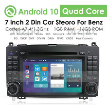 7 Inch IPS 2din Android 10 Auto GPS Radio untuk Mercedes Benz W906 Sprinter B200 W245 W169 W639 WiFi Mobil stereo Multimedia Pemain(China)