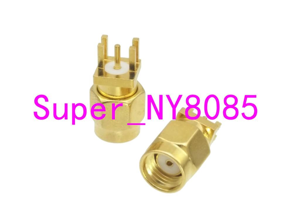 1pce MMCX female jack right angle solder PCB mount RF connector