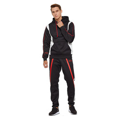 Sport Costume For Men 2019 Autumn Winter Two-piece Tracksuit Jogging Suits For Male Sport Set Pullover Sweat Pants Jogging Set