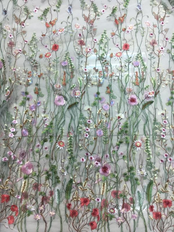 net Last flowers fabric