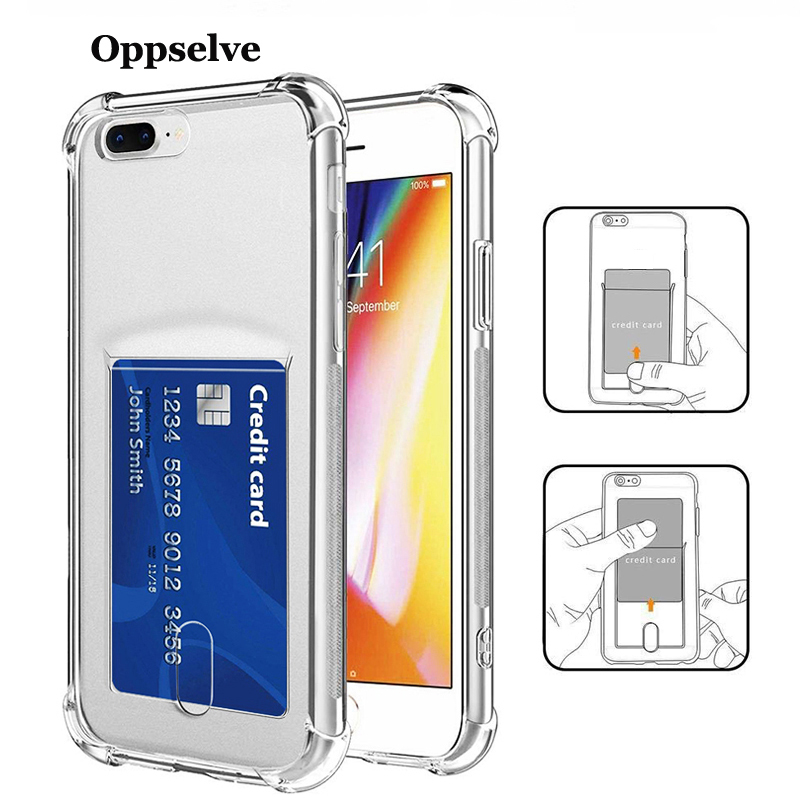 Fashion Shockproof Bumper Transparent Silicone Phone Case For iPhone X XS Max XR 8 7 6 6S Plus Clear Protection Back Cover Capa