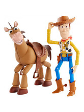 25cmTalking  Woody Bullseye Horse Pvc Action Figure Collectible Doll Toys Gift For Children B672