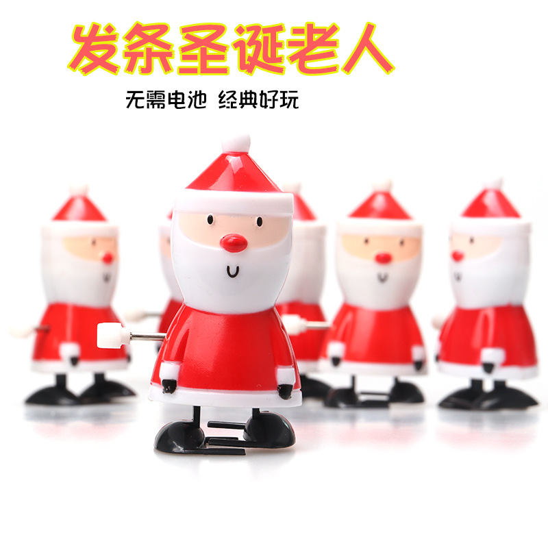 Hot Sales Winding Santa Claus Wind-up Toy Winding Toy Christmas Gift New Style Heat