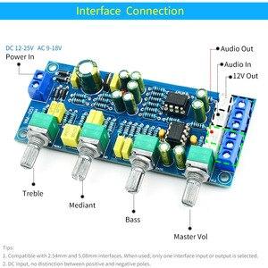 Image 4 - UNISIAN Tone board NE5532, усилитель звука, hi fi, усилитель, усилитель, басовый тройной баланс, громкость, тон, эквалайзер, плата управления для усилителей, набор для творчества