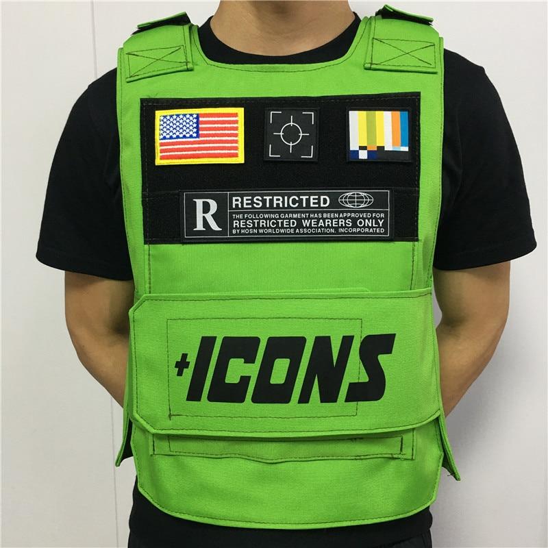 2020 Rapper Hiphop MC VEST RAPPER BAR TANK TOP Fashion New Design Street Fashion ICONS Military Militari Tactic Tactical Vest