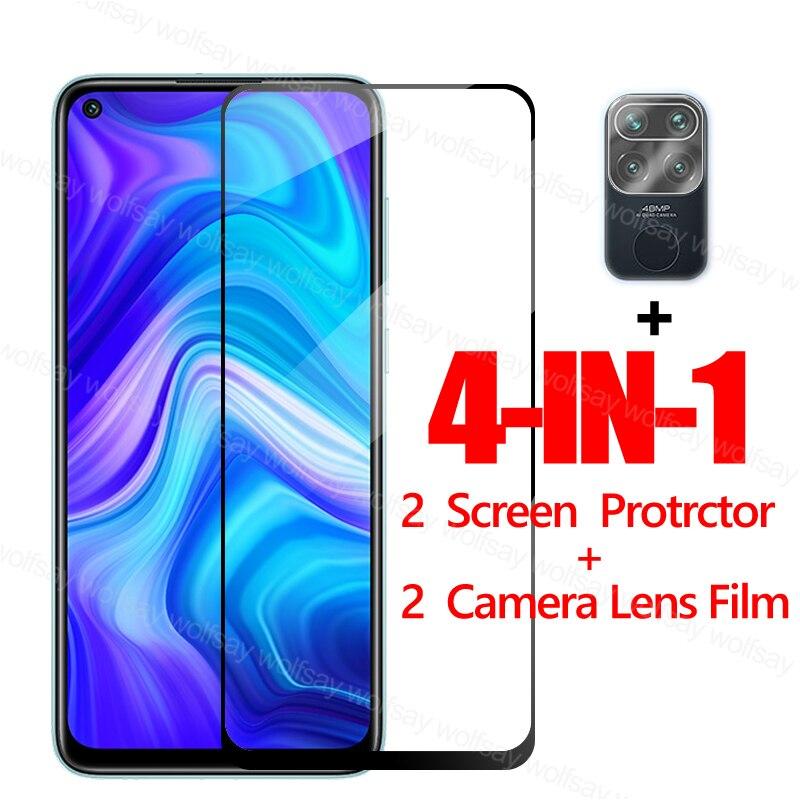 2 5d Screen Protector For Xiaomi Redmi Note 9 Glass For Xiaomi Poco M3 X3 Redmi 9 9c Note 9 Tempered Glass Protective Phone Film Phone Screen Protectors Aliexpress