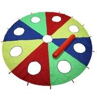 Kindergarten Rainbow Umbrella Toy Parent Child Activities Game Props Children Kids Outdoor Fun Sports Toy
