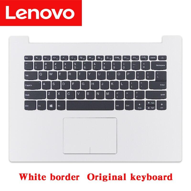 Lenovo Ideapad 320-14ISK 320-14IAP 320-14IKB orijinal dizüstü klavye avuç içi dayanağı touch pad ile 5CB0N82374 5CB0N82229