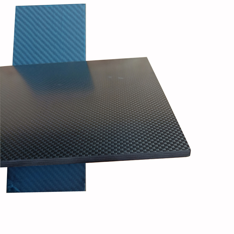 50x50cm Carbon Fiber Plate 0.5mm 1mm 2mm 3mm 4mm 5mm Thickness Real 3K Panel Sheets High Composite Hardness Material For RC image