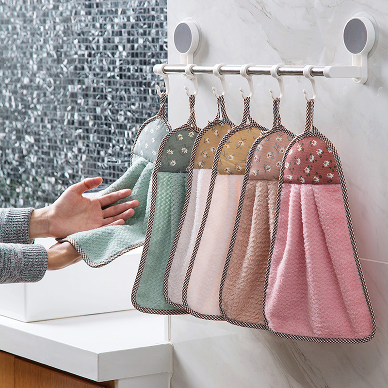 Kitchen Sink Dish Cloth Wipe Washing Cloth Rags Household Bathroom Super Absorbent Towel Cleaning Cloth