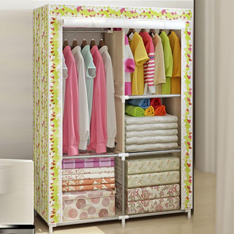 Simple wardrobe shelf for children -6