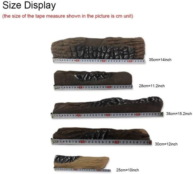 Fake Firewood for Gas Fireplace  6