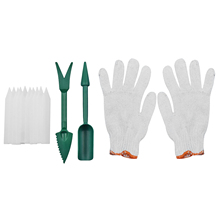 Succulent Planting Plant Migration ABS Label Digging Gardening Tool Home Mini Transplanting DIY Glove Garden Seeder Kit Nursery