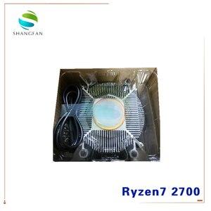 Image 5 - جديد AMD Ryzen 7 2700 R7 2700 3.2 GHz ثماني النواة سنتين الموضوع 16 متر 65 واط معالج وحدة المعالجة المركزية YD2700BBM88AF المقبس AM4 مع مروحة تبريد