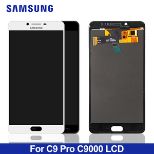 100% Test For samsung galaxy c9 pro lcd Display Touch Screen Digitizer Assembly For samsung c9 pro C9000 lcd screen(China)