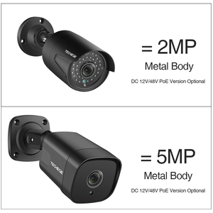 Image 2 - Techege H.265 Face Dectection 48V POE Security  IP Camera Audio Outdoor Waterproof Video Surveillance Camera Onvif FTP 5MP 2MP