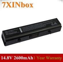 7XINbox GP952 RU586 RN873 WK379 X284G XR693 GW240 15 GW252 Bateria Para Dell Inspiron 1525 1526 1545 312-0625 312-0626 312-0633