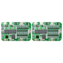 2Pcs 6S 15A 24V PCB BMS Charger Protection Board for 6 18650 Li-Ion Lithium Battery Cell Module DIY Kit