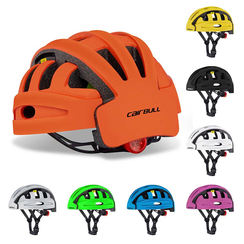 Casco plegable para bicicleta casco plegable para bicicleta MTB al aire libre ciclismo scooter de patinaje casco protector de seguridad deportiva para hombres y mujeres