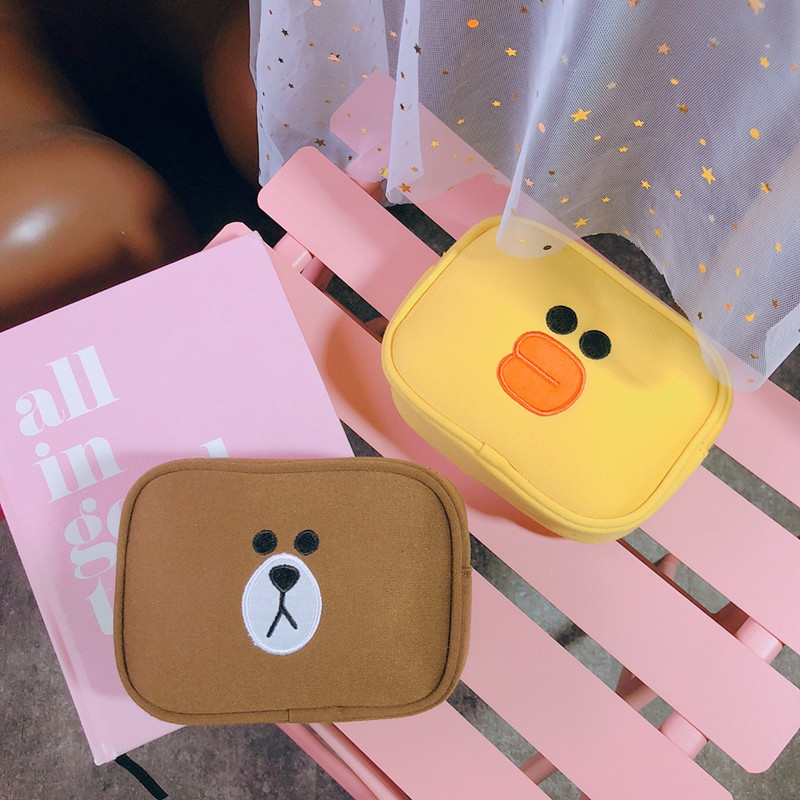 Image 3 - 2 pcs/set Women Travel Cosmetic Bag Girls Cute Toiletry Makeup Pouch Multifunction Wash Accessories Supplies Wholesale Case Itemwomen travel cosmetic bagcosmetic bagwholesale cosmetic bag -