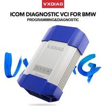 Vxdiag vcx profissional ferramentas de diagnóstico do carro para bmw icom a2 a3 próximo ista/inpa/esys obd2 scanner ecu programador para bmw codificação