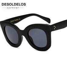 DesolDelos Brand Designer Women Square Retro Men Sunglasses 2018 Fashion Oversided Lady Leopard Frame New Eyewear G204
