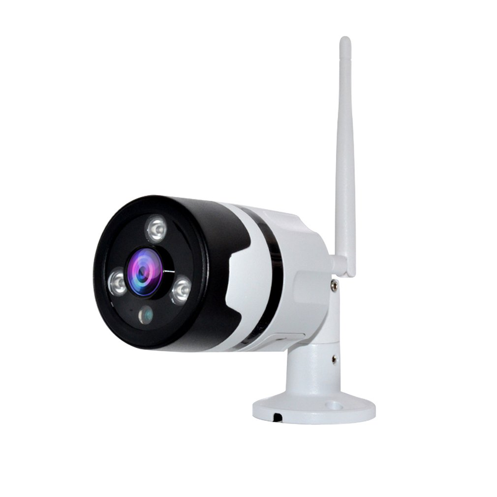 3MP Wireless WiFi Outdoor Camera Waterproof Security Two Way Audio Bullet Camcorder With SD Port