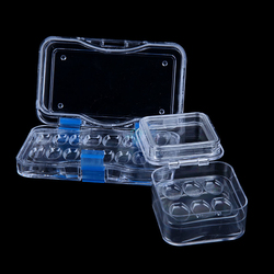 Dental Tooth Box with Film High Quality Dental Supply Denture Storage Box Membrane Tooth Box with hole