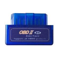 ELM327 V2.1 skaner OBD2 Mini Bluetooth OBD 2 II sprawdź czytnik kodów kreskowych silnika narzędzie diagnostyczne do samochodów dla Windows Android