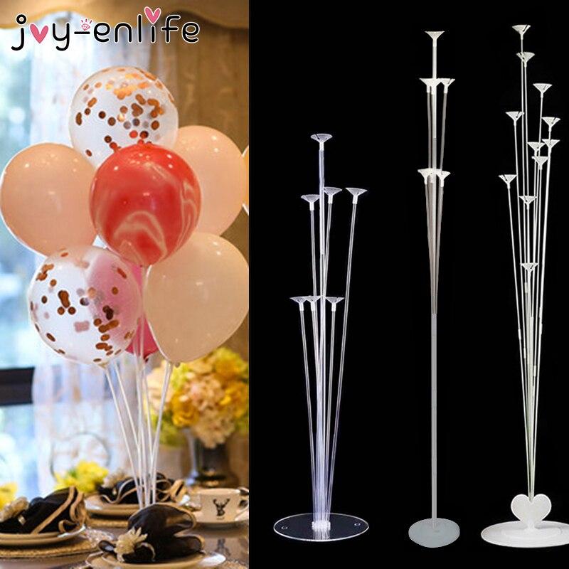 7/11 Tubes Balloons Holder Balloon Stand Column Wedding Party Decoration Kids Birthday Decor Baby Shower Supplies