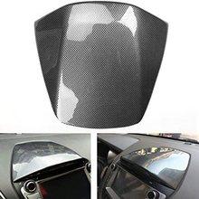 Углеродное волокно стиль автомобиля консоль инструмент gps навигация