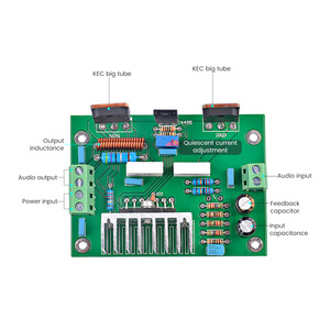 Image 3 - Aiyima UPC1298V Mono Versterker Boord 80W Hifi Audio Versterker Board Een Kanaal 8Ohm Diy Sound Systeem Speaker Home Theater