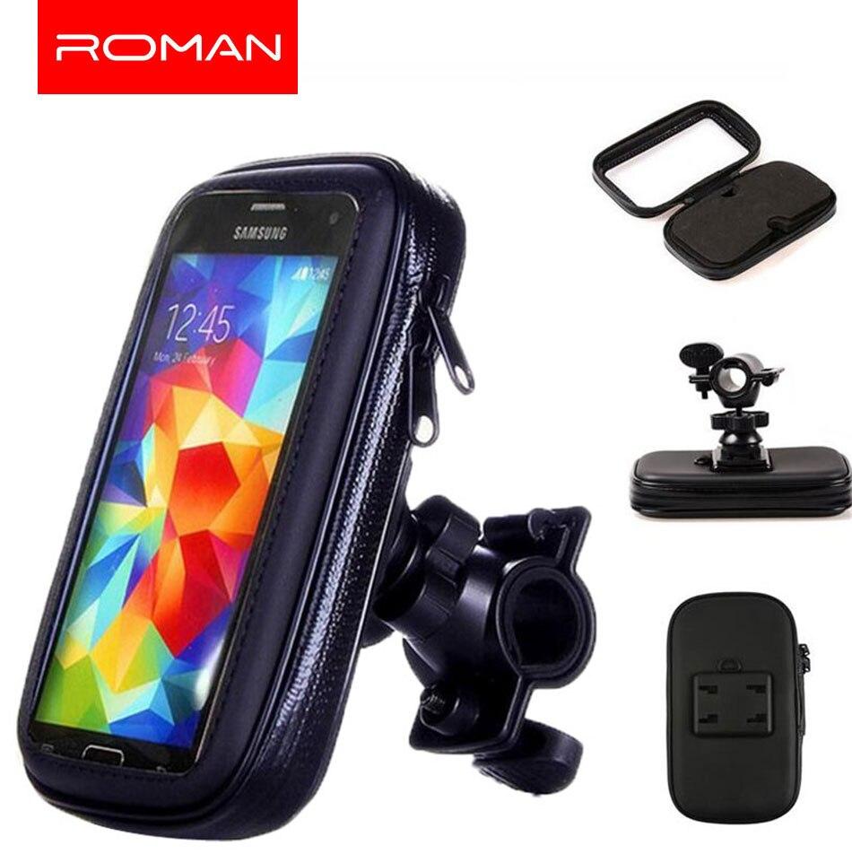 Держатель для телефона на велосипед, мотоцикл, подставка для телефона для Iphone X, 8 Plus, SE, S9, gps, держатель для велосипеда, водонепроницаемый чехол