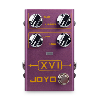 JOYO R-13 XVI Octave Electric Guitar Effects Pedal With MOD Modulation Effect True Bypass Bass Effect Pedal Guitar Accessories mosky mini vol attenuator pedal electric guitar effect pedal with true bypass