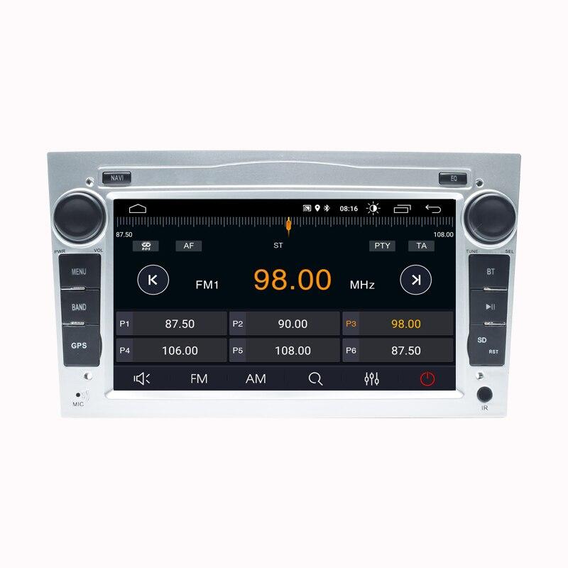 IPS DSP 8GB Android 10 2 DIN nawigacja samochodowa GPS dla opla Vauxhall Astra H G J Vectra Antara Zafira Corsa Vivaro Meriva Veda bez odtwarzacza DVD