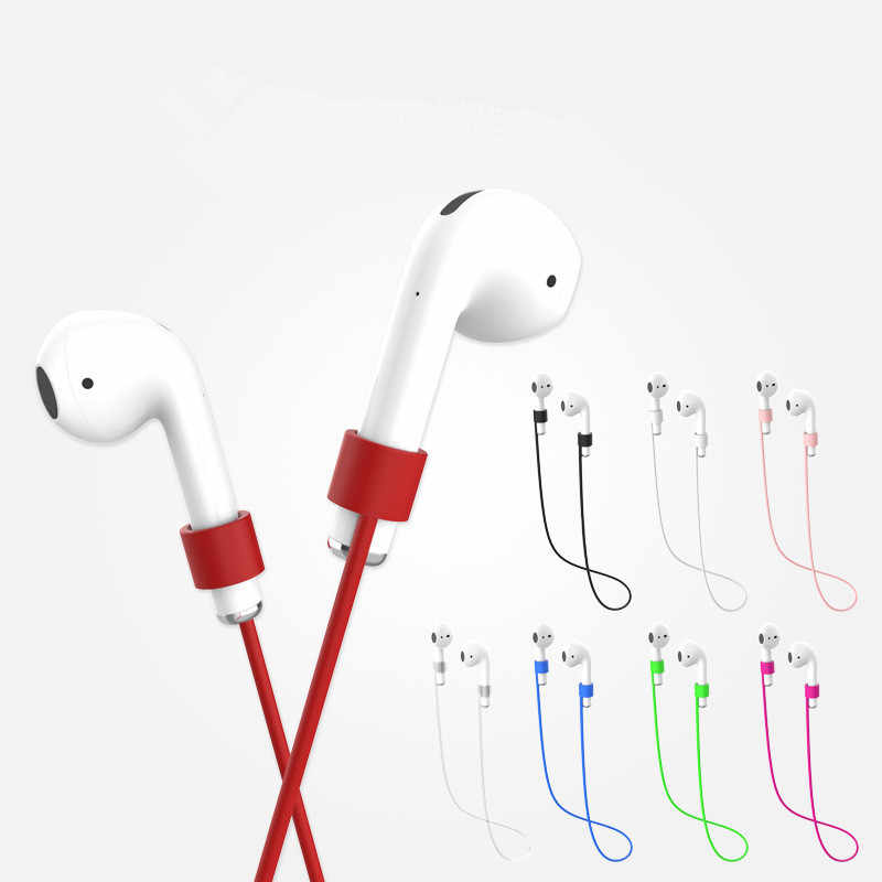 4 Màu Sắc Chống Mất Dây Treo Dây Dây Cho IPhone/ AirPods Tai Nghe Dây Silicone Dây Tai Nghe Airpods