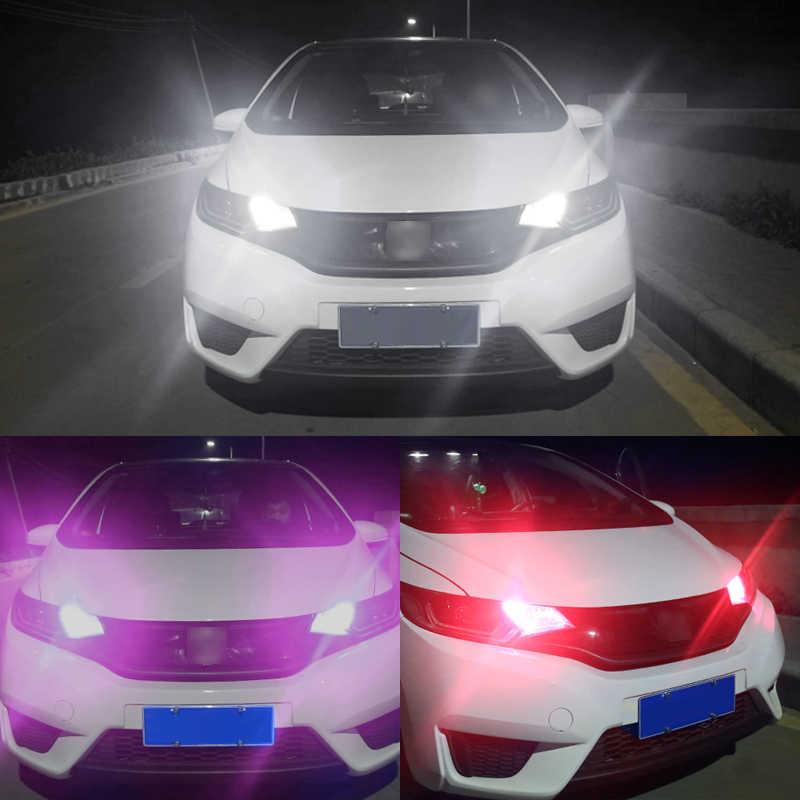 1Pcs Silikon LED Mobil Interior Lampu DC 12V T10 W5W Baji Sisi Parkir Lampu Clearance Light LED COB auto Membaca Bohlam Lampu Sinyal