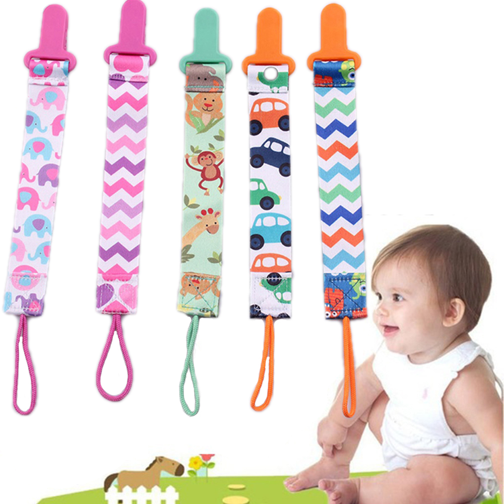 3pcs/set Pacifier Clips Anti-drop Clip For Babies Newborn Soother Clip Chain Personalised Infant Present Gifts Baby Accessories