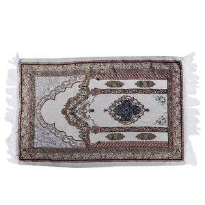 Image 2 - 1 sztuka New Arrival muzułmański dywanik do modlitwy dywan modlitewny Salat Namaz islamski styl arabski islamski dywanik modlitewny 27.5*43.3 inch